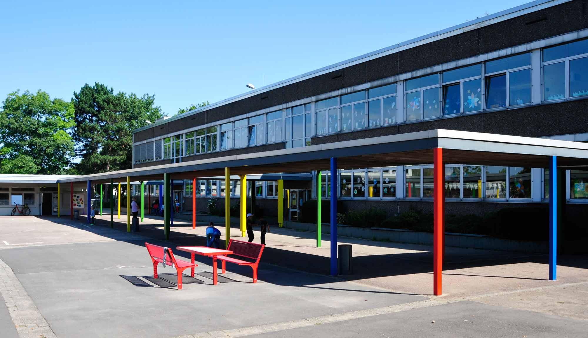 Schulhof